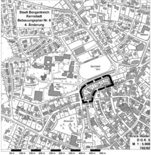 4 nderung des bebauungsplanes nr 8 kernstadt in borgentreich orgelstadt borgentreich